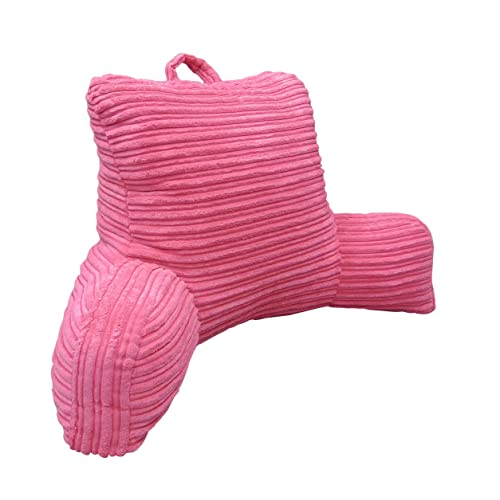 Elements Hi Lo Plush Cord Bedrest Lounger Pink