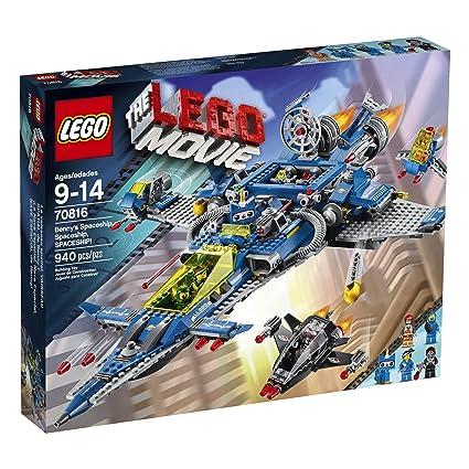 Amazon.com: LEGO Movie 70816 Benny's Spaceship, Spaceship, Spaceship! Building Set: Toys & Games
