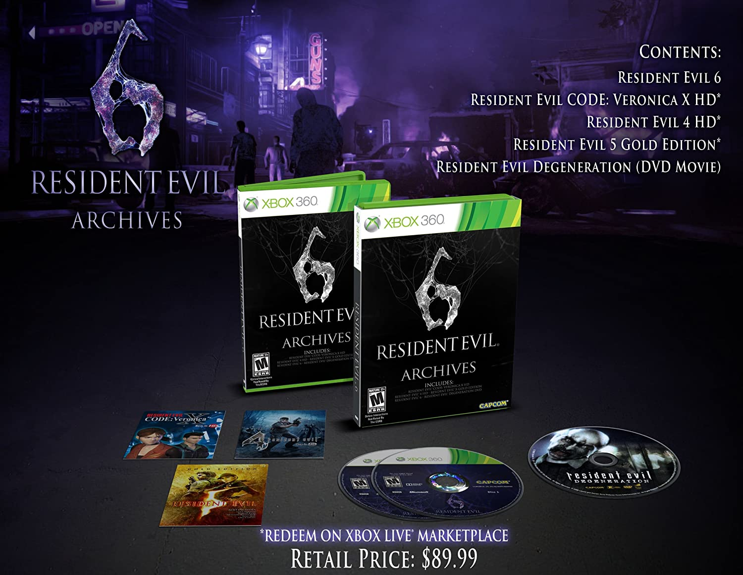 comradesnarky's Adventures In Game Collecting: Resident Evil 6