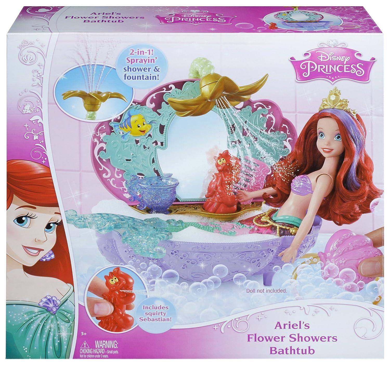 Disney Princess Ariel's Flower Shower Bathtub Accessory