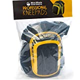 Protective Knee Pads For Work (1 Pair) Comfy Cushioned Kneepads That Stay In Place And Don't Slip Down. Used With Shorts or Pants. Gentle With Your Knees - 5 Year Warranty