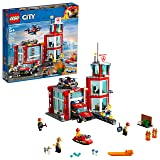 LEGO City Fire Station 60215 Building Kit (509 Piece) (Color: Multi)