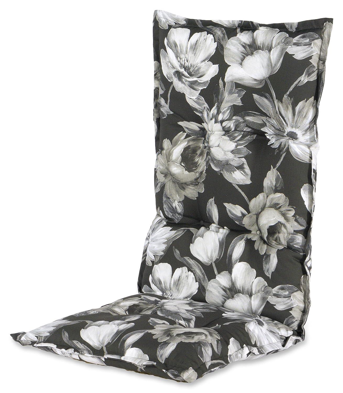 Hartman 14705125 Kissen Hochlehner 123 x 50 cm, Dessin Rosette schwarz jetzt bestellen