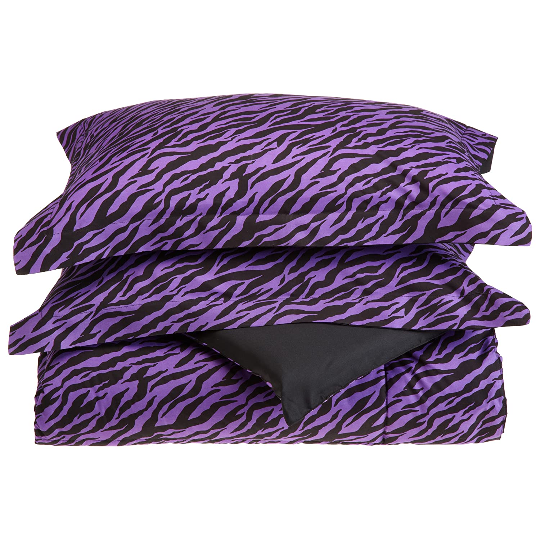 Purple Zebra Print Bedding Sets