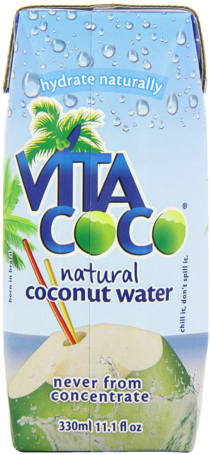 Vita Coco 100% Pure Coconut Water, 11.1-Ounce Containers (Pack of 12) $12.22