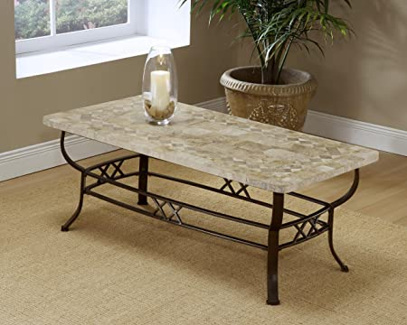 Brookside Fossil Coffee Table - Base