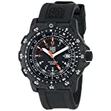 Luminox Men's 8821.KM Recon Pointman Black, Rubber Band, With Multi Color Accents Watch (Color: black)