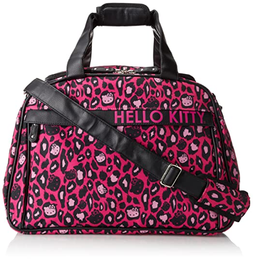 Hello Kitty Hello Kitty Pink Leopard Weekender Carry On