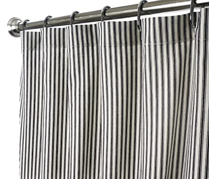 White Fabric Shower Curtain Extra Long Images
