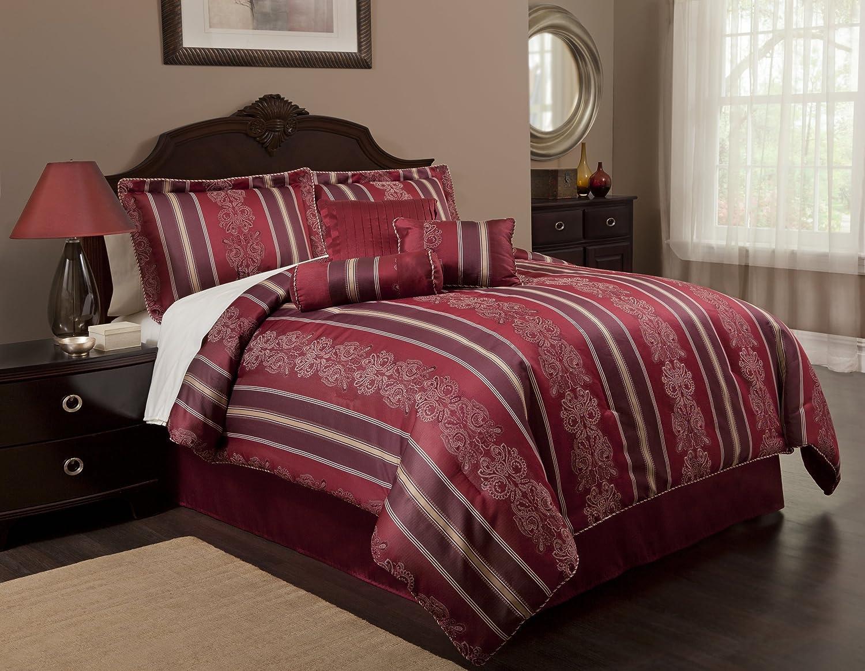 7pc Signet By Baltic Linen Queen Comforter Set Bed