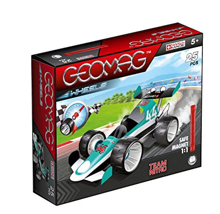 Geomag Wheels Light Blue Team Nitro 25 delig