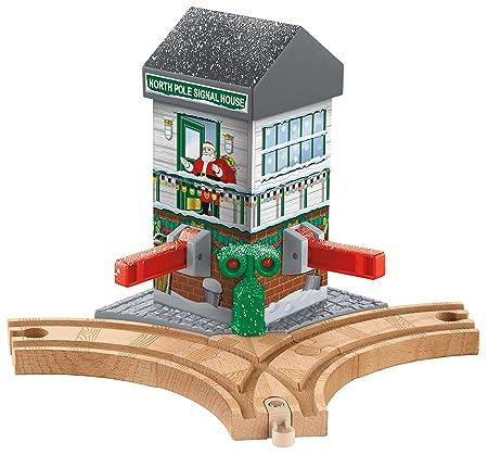 Fisher-Price Thomas the Train Wooden Railway Christmas Crossings [Amazon Exclusive]