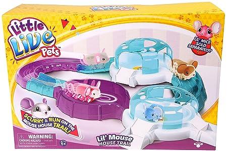 Little Live Pets – Lil'Mouse – Aire de Jeu pour Souris Interactive