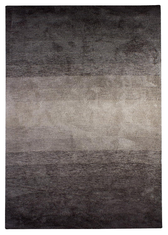 """TEPPICHWELT SONA-LUX Teppich handgetuftet schlamm """"Größe auswählen"""" 170 x 240 cm"""
