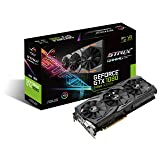ASUS ROG Strix GeForce GTX 1080 8GB 11Gbps Advanced Edition VR Ready HDMI DP DVI Gaming Graphics Card (ROG-STRIX-GTX1080-A8G-11GPBS)