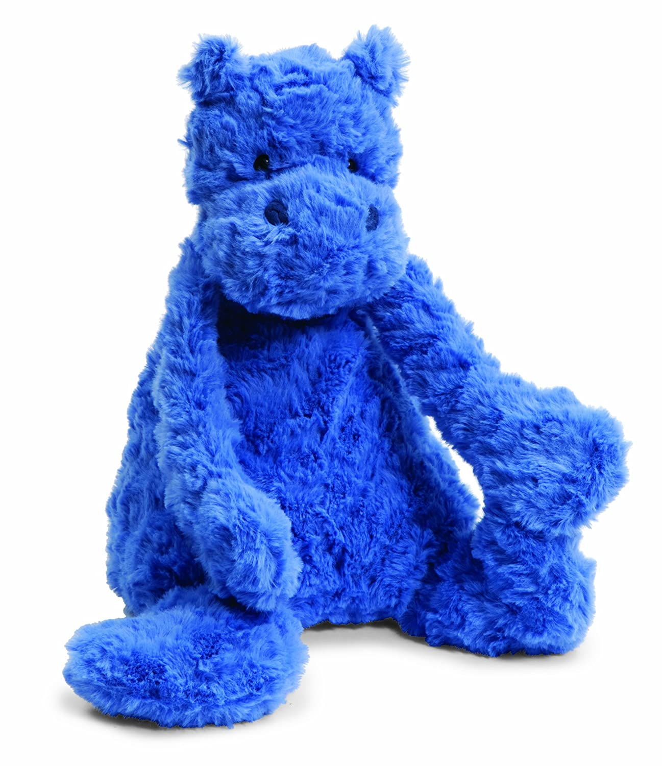 Blue Hippo Stuffed Animal