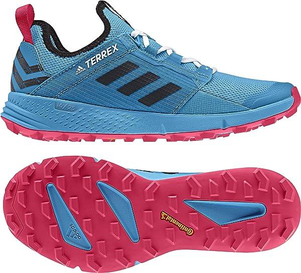 adidas outdoor Women's Terrex Speed LD Shock CyanBlack