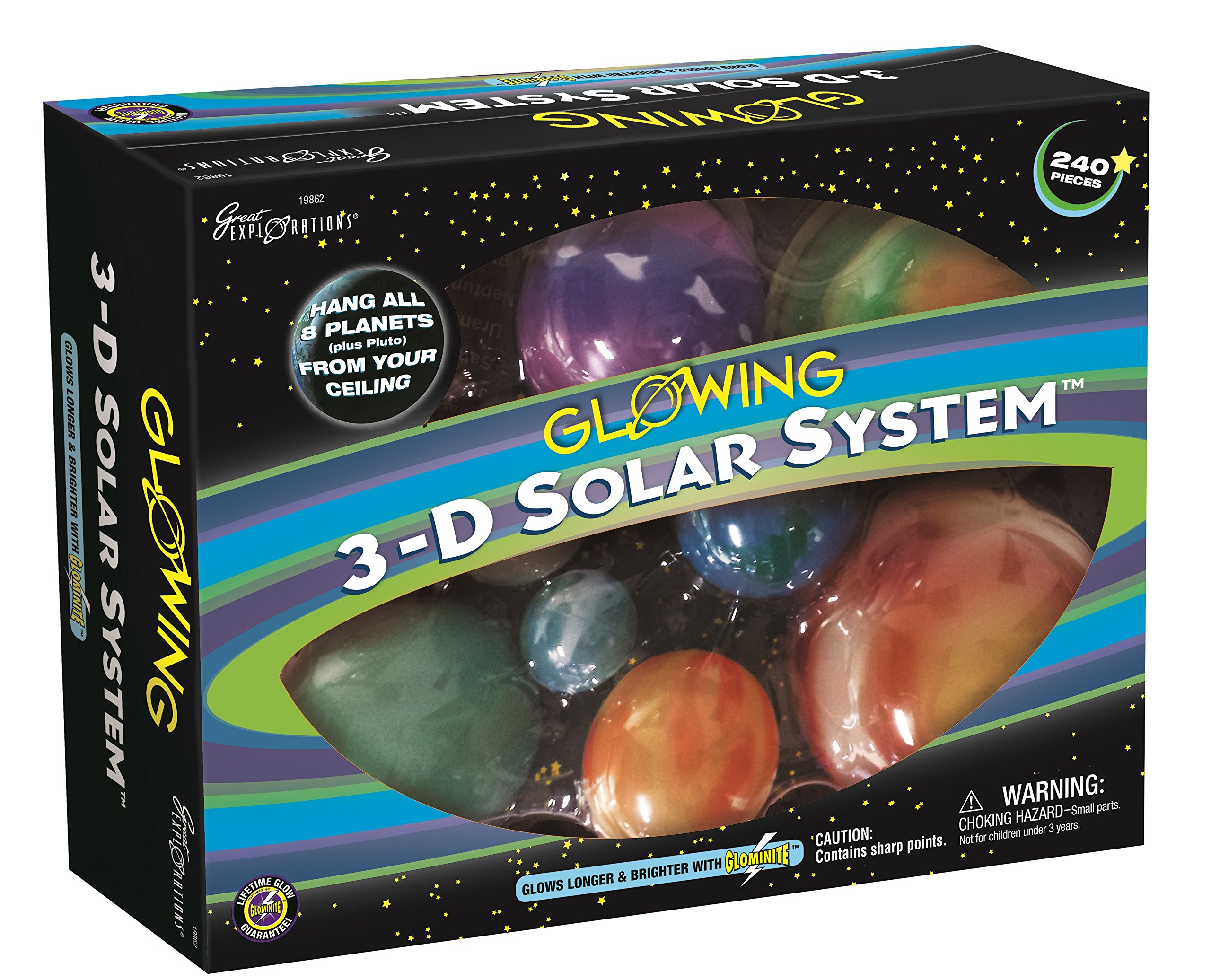 Buy Glowing 3D Solar System Now!