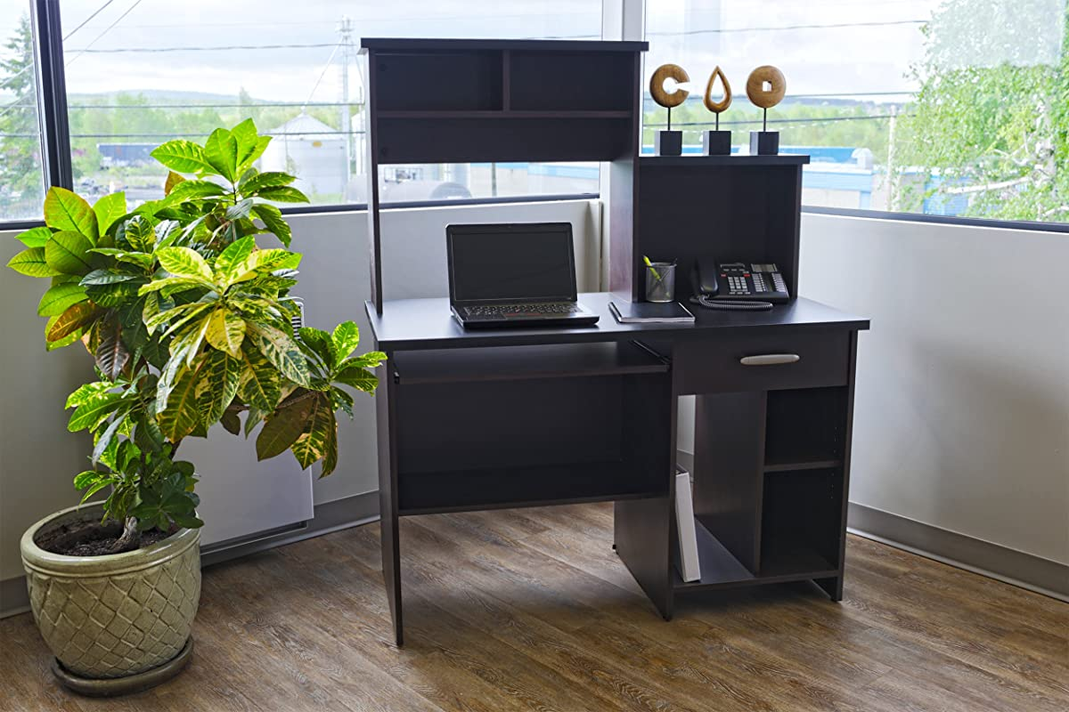Bestar Active Computer Workstation in Black