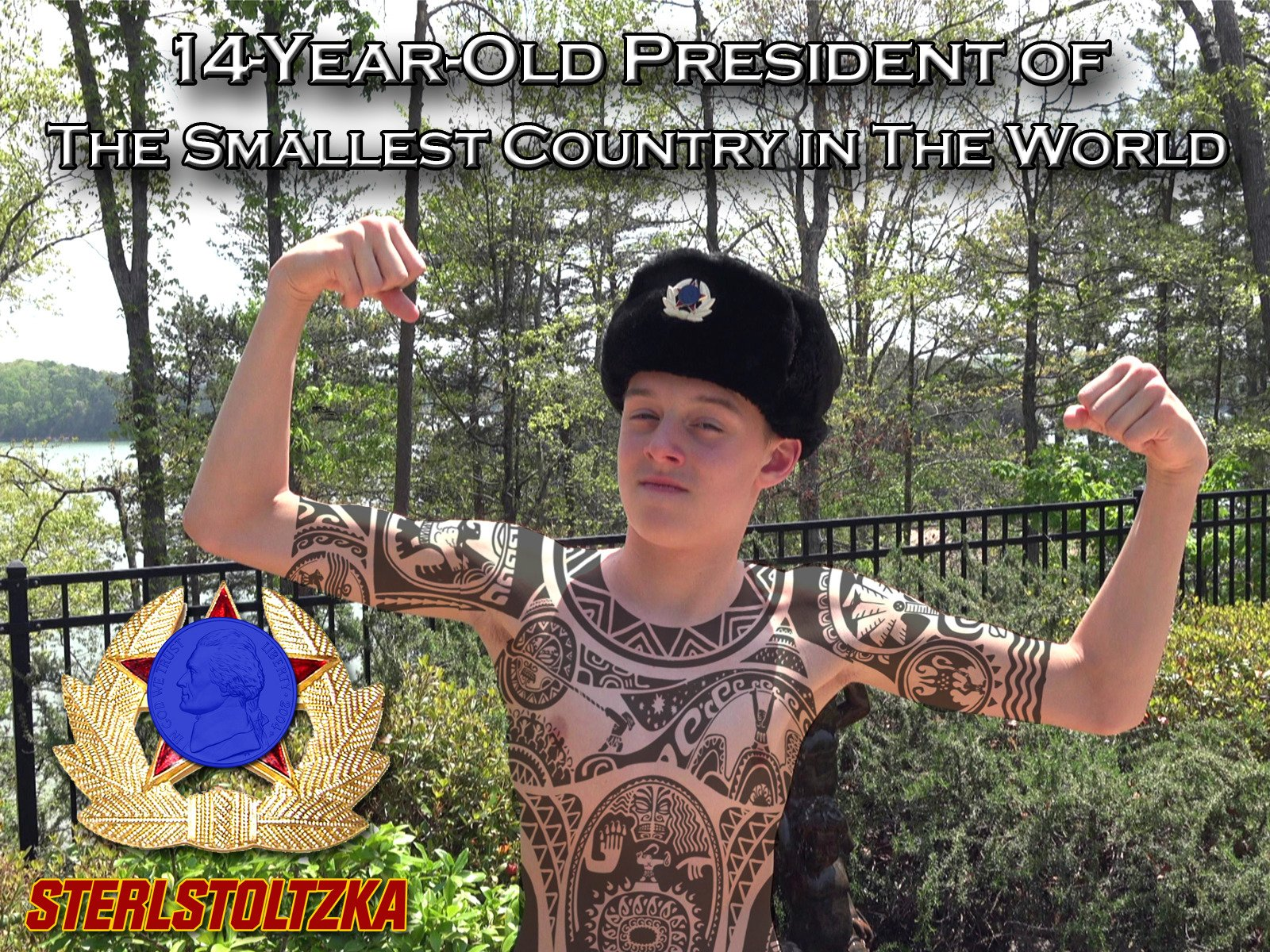 14 Year Old President of the Smallest Country in the World on Amazon Prime Video UK