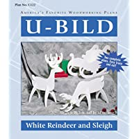 White Reindeer & Sleigh Plans