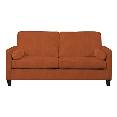 Handy Living ESP-S1-DMN44 Espen SoFast Diamond Sofa, Orange