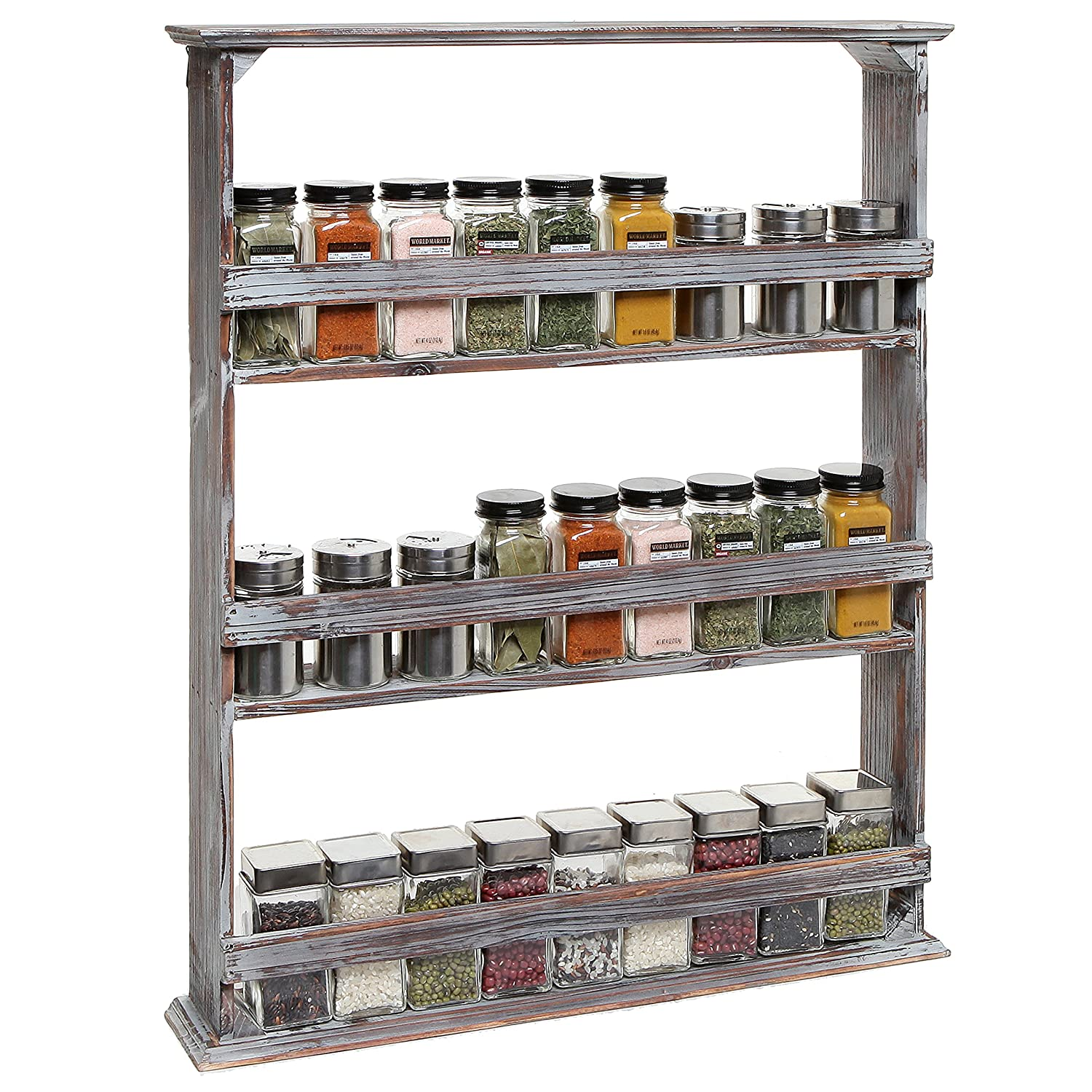 Kitchen Shelves Wall Mounted: Kitchen Wall Mounted Racks: Spice Racks & Pot Racks