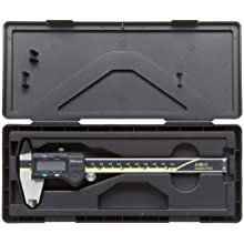 "Mitutoyo ABSOLUTE 500-193 Digital Caliper, Stainless Steel, Battery Powered, Inch/Metric, 0-12"" Range, +/-0.0015"" Accuracy, 0.0005"" Resolution"