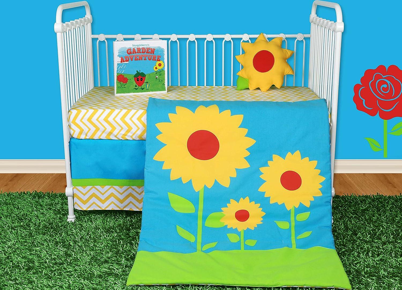 Snuggleberry Baby Sunflower Love Baby Bedding