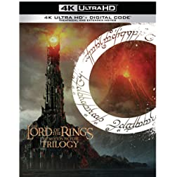 The Lord of the Rings: Motion Picture Trilogy (Extended & Theatrical) [4K Ultra HD]