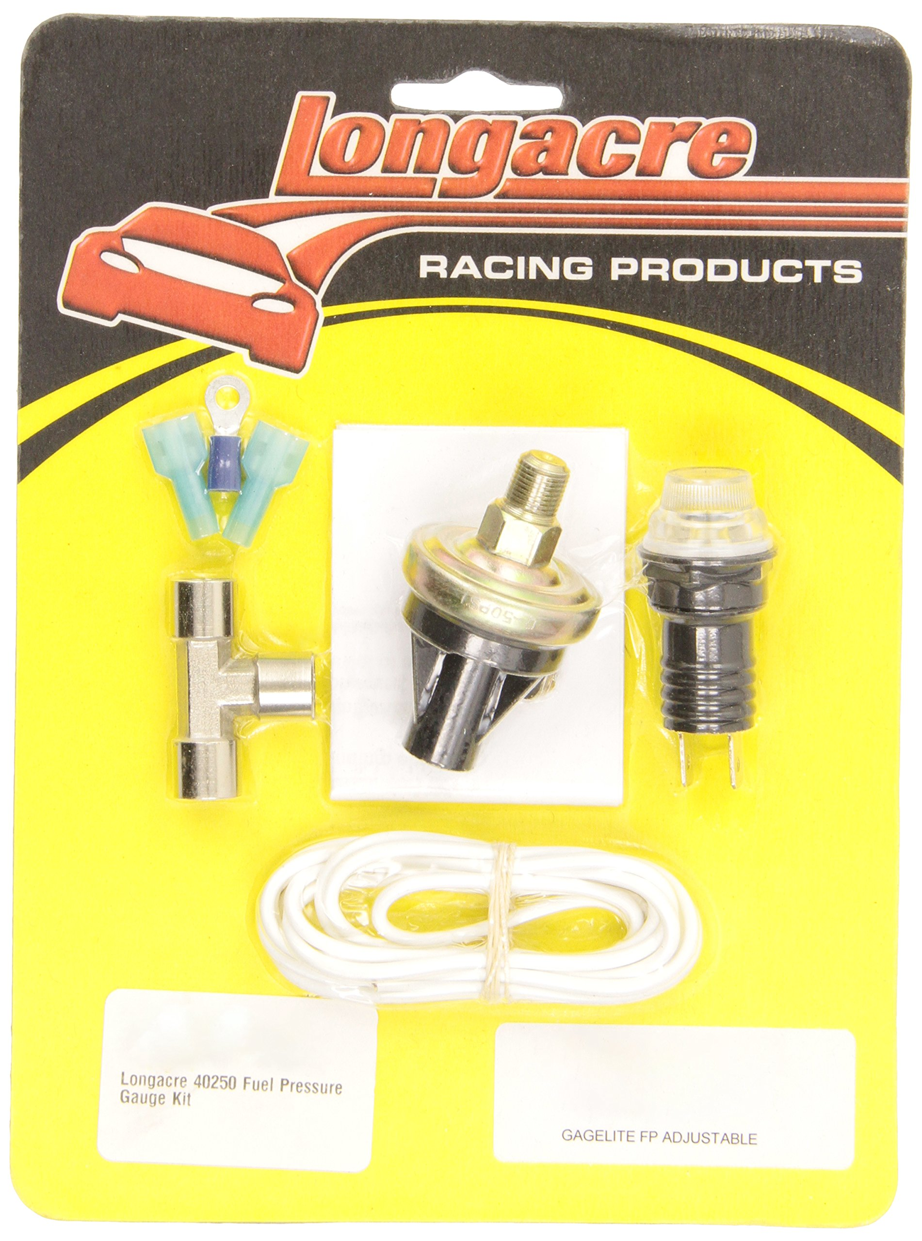 Fuel Pressure Gauge Longacre Kit