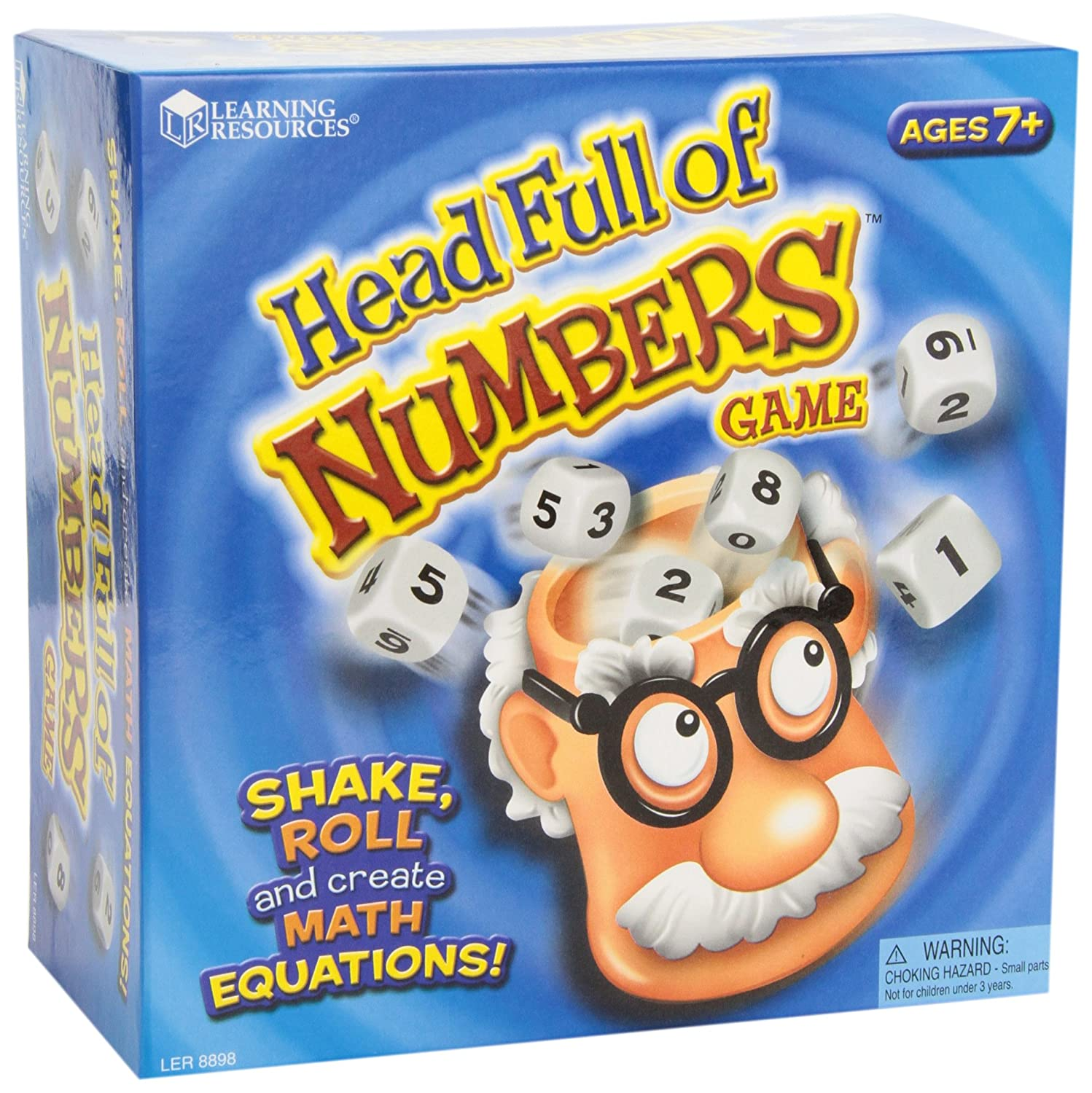 Learning Resources Head Full Of Numbers Math Game