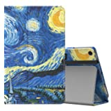 MoKo Case for All-New Amazon Fire HD 10 Tablet (7th Generation, 2017 Release) - Slim Folding Stand Cover with Auto Wake/Sleep for Fire HD 10.1 Inch Tablet, Starry Night (Color: Z-Starry Night, Tamaño: 10.1 Inch)