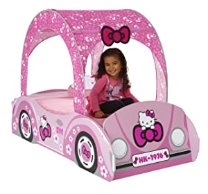 Hello Kitty Toddler Feature Bed       Customer review