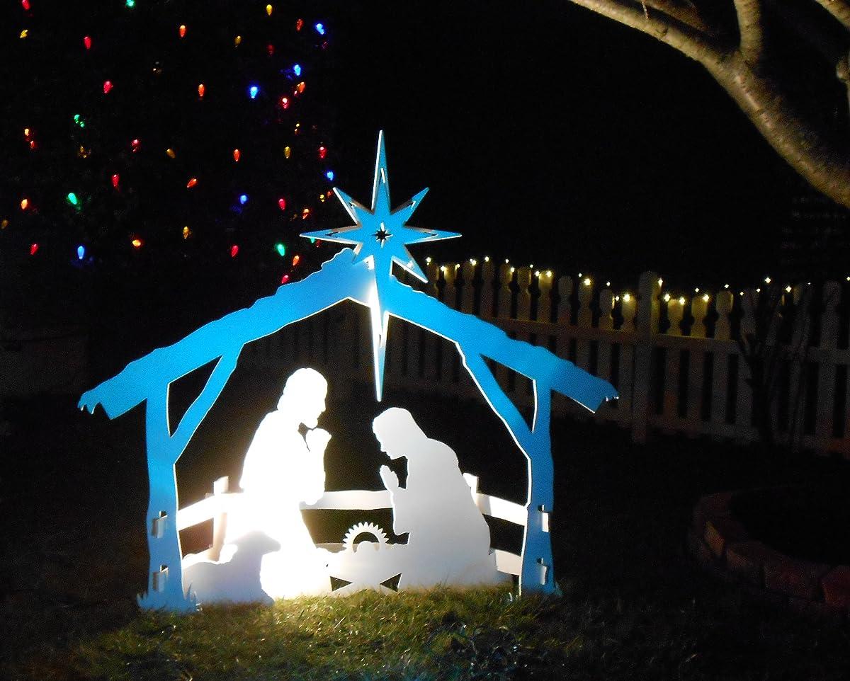 MyNativity Outdoor Christmas Nativity Set, Medium