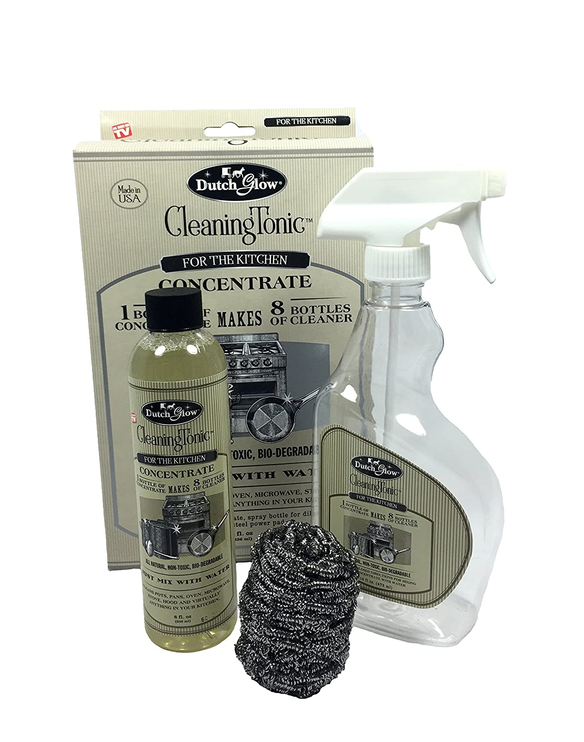 Dutch Glow Cleaning Tonic - All Purpose Kitchen Cleaning Product