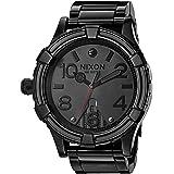 Nixon Men's '51-30 SW, Vader' Quartz Stainless Steel Casual Watch, Color:Black (Model: A172SW-2244-00) (Color: Vader Black, Tamaño: One Size)