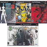 Shin Megami Tensei PS2 Ultimate Collection 5 Brand New All Sealed Games