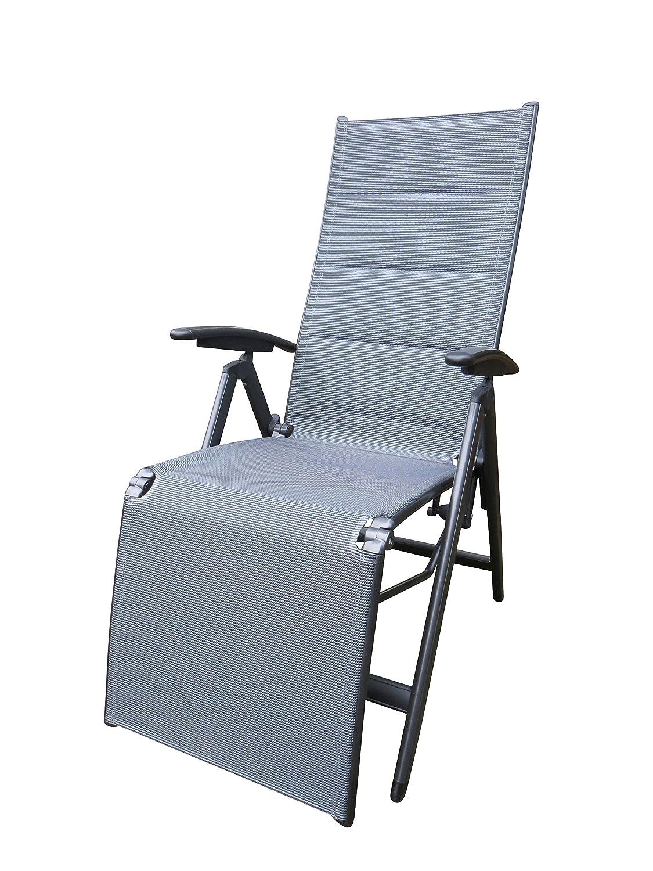 """Bukatchi Luxus Relaxsessel """"Torro 258561"""", gepolstert, anthrazit – mystic-grey, 10-fach verstellbar jetzt bestellen"""