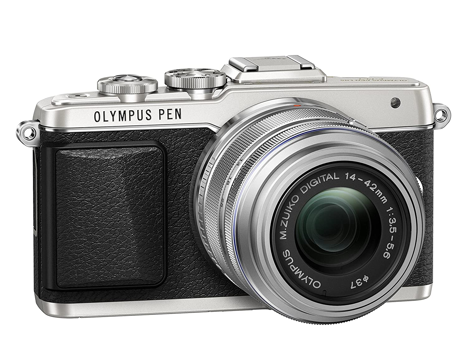 Digital Cameras OLYMPUS EPL7 SILVER 16MPIXELS KIT 14-42MM