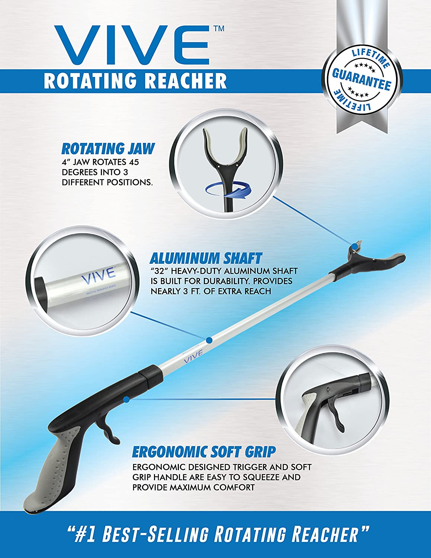 Товар для инвалидов VIVE Rotating Reacher