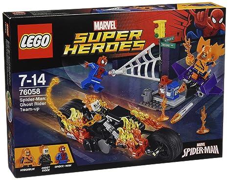 LEGO - 76058 - Marvel Super Heroes - Spider-man : L'équipe de Ghost Rider