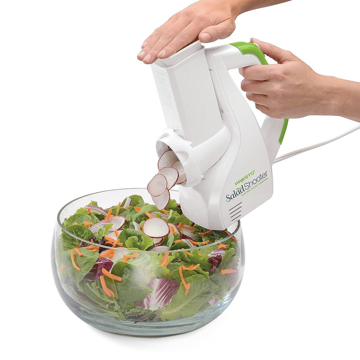Presto 02910 Salad Shooter Electric Slicer/Shredder