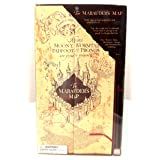 Wizarding World of Harry Potter Electronic Marauder's Map w/ Moving Footprints (Color: brown, Tamaño: Full size replica)