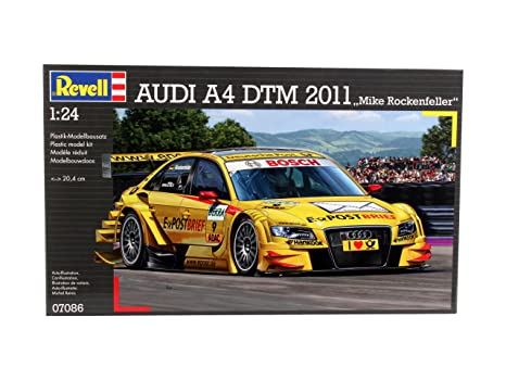 Revell - 07086 - Maquette - Audi A4 DTM 2011 - M Rockenfeller