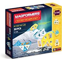 30-Pieces Magformers My First Ice World Building Set