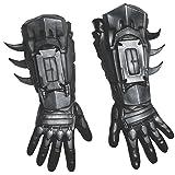 Rubie's Men's Arkham City Deluxe Batman Gloves, Black, One Size (Color: As Shown, Tamaño: One Size)