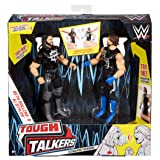 WWE Tough Talkers Seth Rollins & AJ Styles Figure, 2 Pack (Color: Deep Brown)