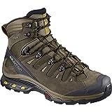 Salomon Men's Quest 4D 3 GTX Backpacking Boots Wren/Bungee Cord/Green Sulphur 11 D US (Color: Wren/Bungee Cord/Green Sulphur, Tamaño: 11 M US)