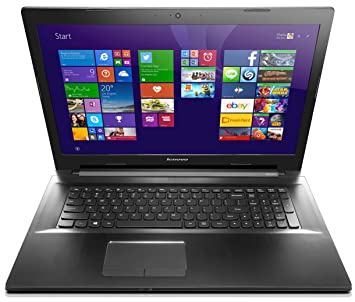 """Lenovo Ideapad Z70-80 Ordinateur Portable 17,3"""" Noir (Intel Core i5, 4 Go de RAM, Disque dur 1 To, Nvidia GeForce 840M, Windows 8.1)"""